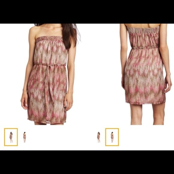 charlie jade Dresses & Skirts - 100% SILK Charlie Jade strapless dress. NWT